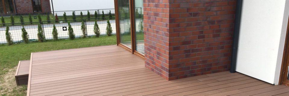 Tarasy i balkony z kompozytu drewnianego