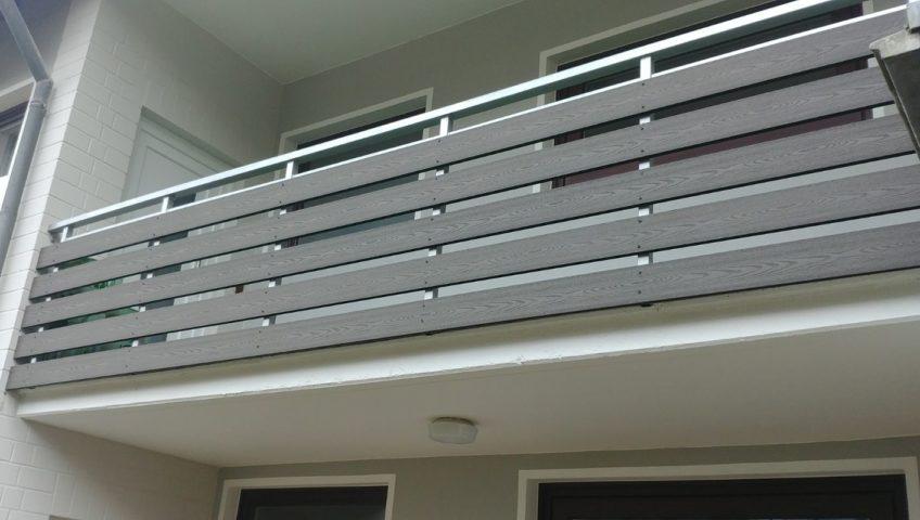Nowoczesna architektura Balustrady - Deski Kompozytowe - SEQO.PL TX44