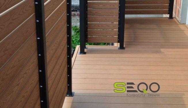 deska kompozytowa na balkon