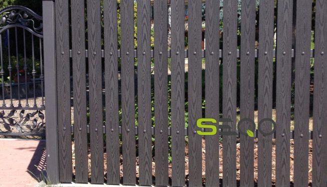 Instrukcja montażu deski ogrodzeniowej sztachety kompozytowe pełne kolor grafit Warszawa