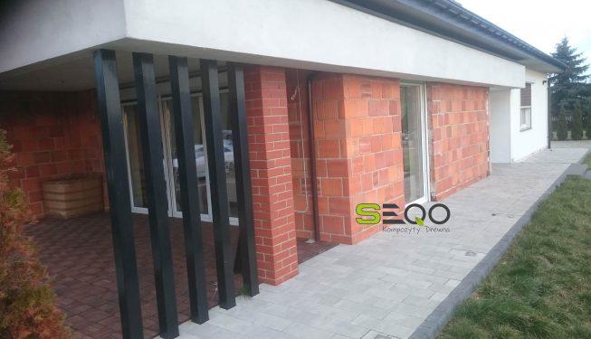 Deska elewacyjna SEQO Standard oraz deska tarasowa