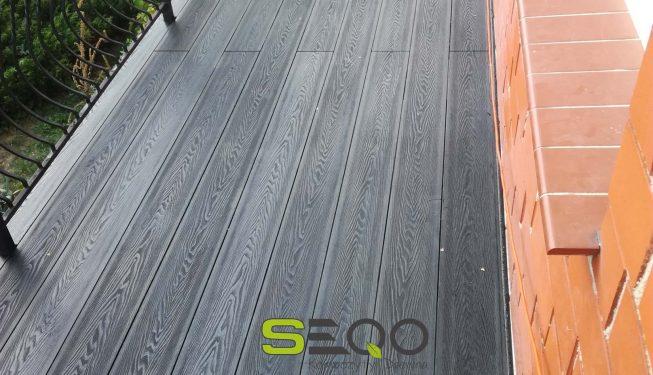 Deski tarasowe SEQO Intensive kolor grafitowy model I-160H25