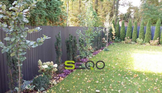 Klasyczne ogrodzenia SEQO Standard model BB-92H20