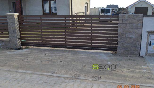 Płot z kompozytów SEQO Standard