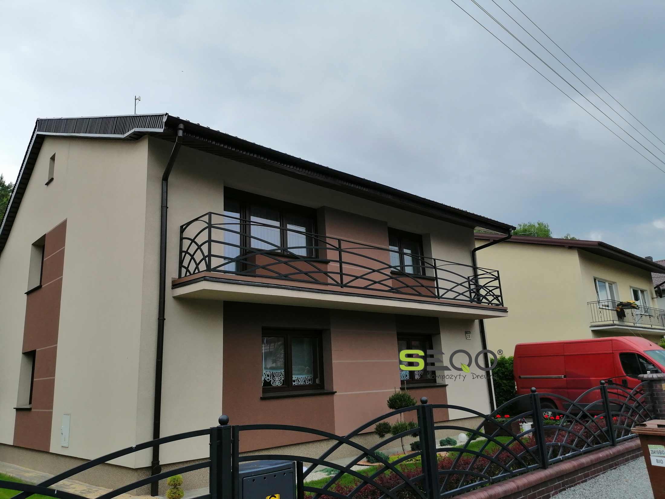 Balkon z deski kompozytowej SEQO Standard
