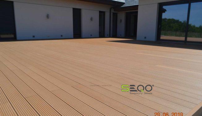 deska kompozytowa kolor drewno naturalne