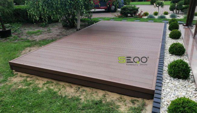 Deski kompozytowe na taras SEQO Standard