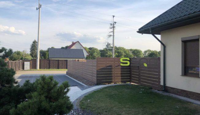 Kompozytowe ogrodzenie seqo intensive