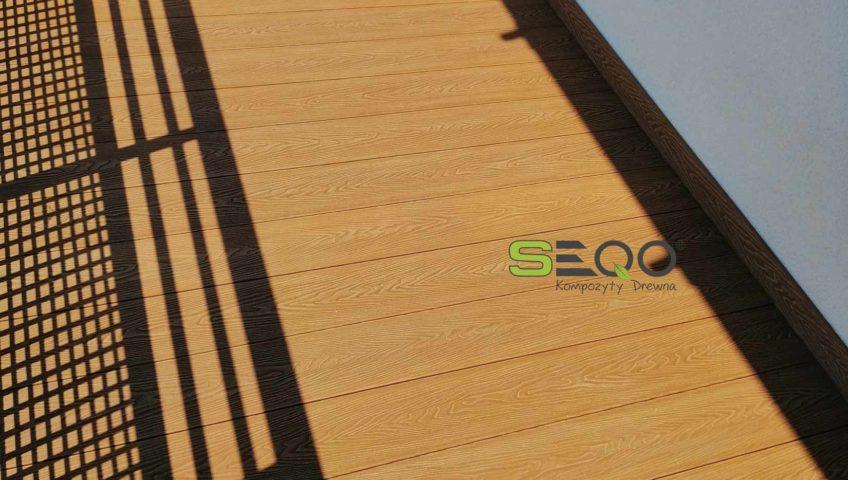 Balkon z kompozytów SEQO Intensive