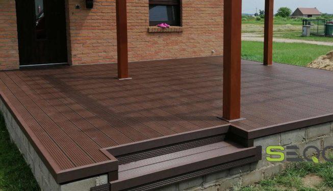 Deski tarasowe kolor czekoladowy SEQO Standard A-140H25