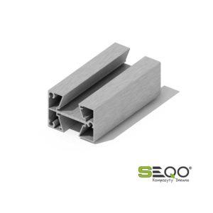 słupek aluminiowy środkowy PV2