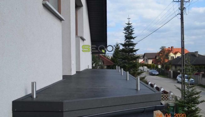 Deski kompozytowe balkonowe - Realizacja 174