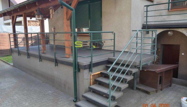 Taras i balkon z kompozytów