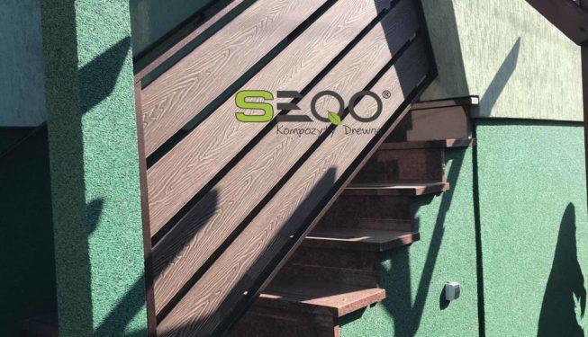 Deska kompozytowa na schody IN-160H25