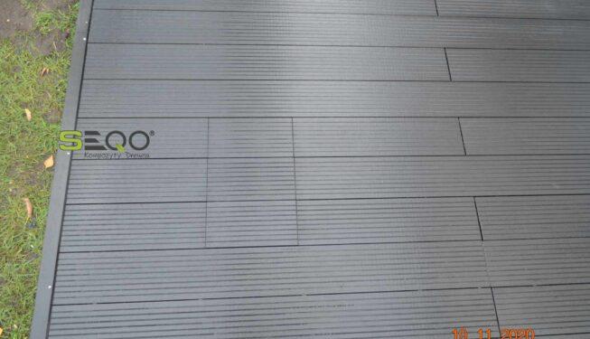 Wytrzymały taras z desek kompozytowych