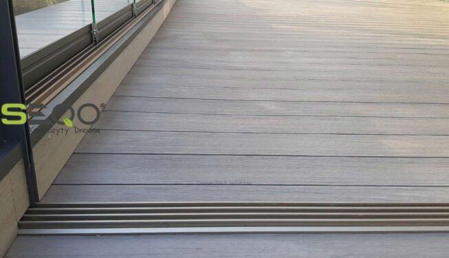 Deski SEQO Co-Extrusion kolor jasnoszary - Realizacja 211