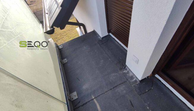 Balkon z kompozytów Premium - Realizacja 220