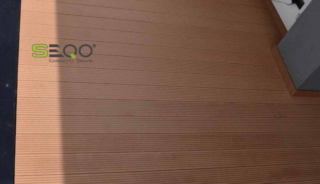 Klasyczne tarasy z kompozytów drewna